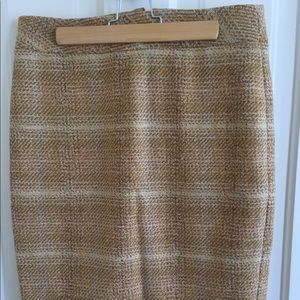 "J.Crew tweed ""The Pencil Skirt"" sz 2"